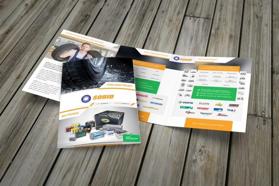 brochure de magazine