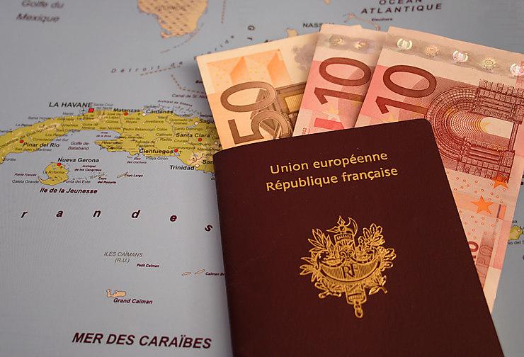 Coût d'un passeport